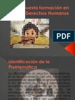 Propuesta formación en Derechos Humanos