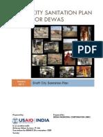 Dewas_City sanitation plan