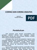 Coring Dan Coring Analys.