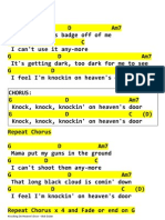 Bob Dylan - Knocking on Heaven's Door