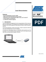 USB Atmel Mouse Doc7604