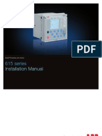 615 Series Installation Manual_G