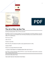 Sun Tzu, Samuel B. Griffith, B. H. Liddell Hart the Art of War 1971