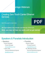 IOS Advantage - Creating Zero-Touch Carrier Ethernet Services