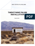 LG Williams / The Estate Of LG Williams TwentyNine Palms Installation (2012)