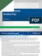 BVMF Presentation - Analyst Day SP - August 2013