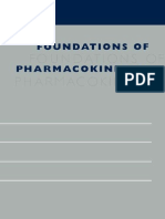 Foundations of Pharmacokinetics