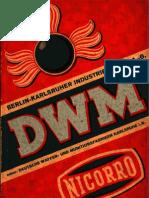 Preisliste (BKIW-DWM) - 1934