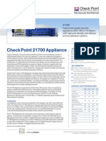 21700 Appliances Datasheet