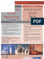 Innovative Audit Reporting