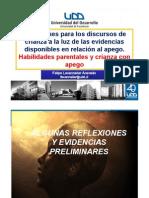 Evidencias en Apego F Lecannelier