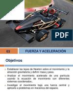 03 Fuerza y aceleración