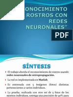 Reconocimiento de Rostros Con Redes Neuronales