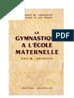Jeux 12 La Gymnastique à l'Ecole Maternelle Marie Dufresse