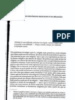 8913110 Emile Durkheim Definicao Do Fenomeno Religioso e Da Religiao