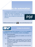 Ventajas de Automatizar