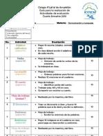 Actividades de evaluación del 4to bimestre PRIMERO