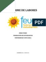 Informe de Labores FEUCR