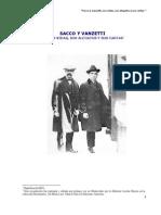 Sacco y Vanzetti, Sus Vidas, Sus Alegatos y Sus Cartas