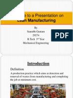 Lean Seminar PPT