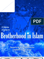 A Collection of Sayings on Brotherhood in Islam