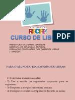 Curso de Libras ( i Basico ) 2012-Parte 1