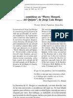 Ideas semióticas en el Pierre Medard de Borges