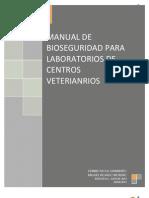 Manual de Bioseguridad Para Laboratorio de Veterinaria