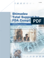 Shimatzu - Class VP - FDA-21 | Verification And Validation