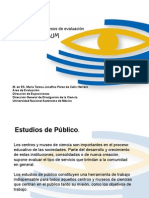 Indicadores y procesos de evaluación en Universum