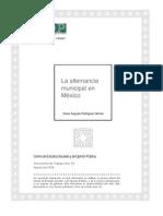 La Alternancia Municipal Mexico Docto52