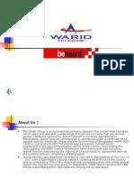 Case Study on Warid Telecom