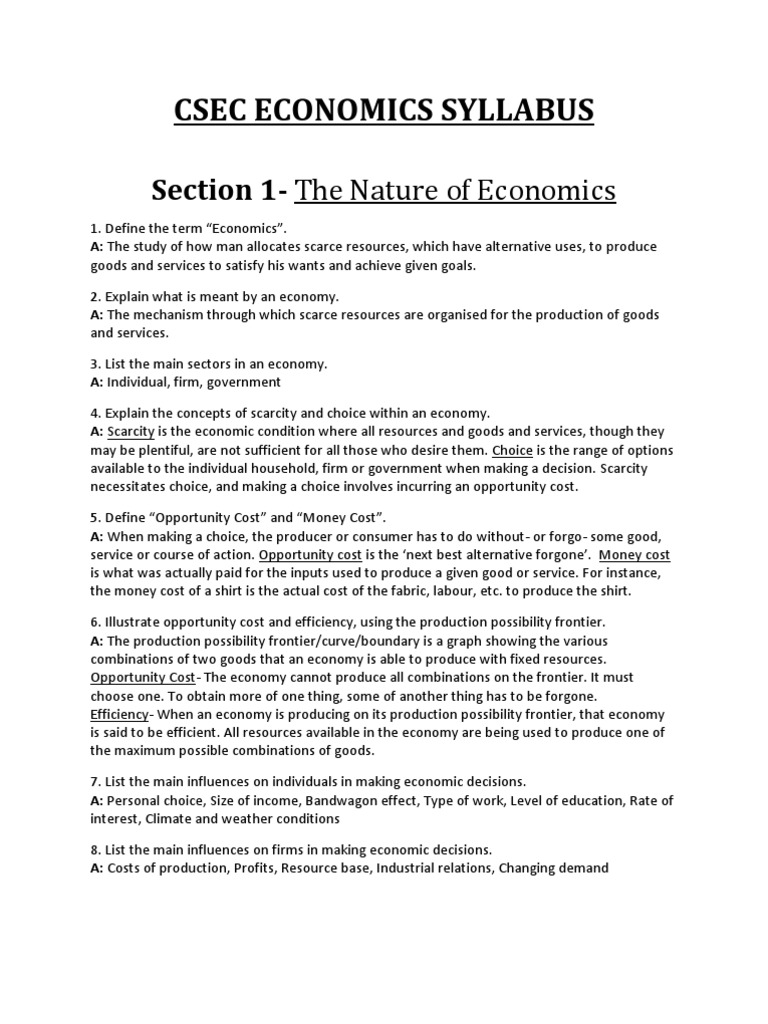 Economics Syllabus Research Paper Academic Writing Service