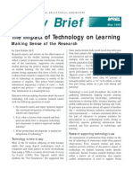 Impact of Technology Policy Brief