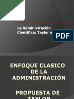 TAYLOR y FAYOL_Enfoques de la Administración cientíifica