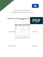 trazabiliadad de la clorofila  en el proceso de  transformacion de la  soja