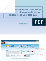 Tutorial 2011 - EnADE 2011