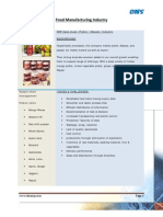 ERP Case study for Food Processsing Enterprise