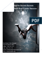 "Not-So-Secret Secrets To Perpetual Success For Real Estate Agents (Read in ""Full Screen"")"