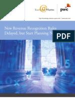 PWC US Revenue recognition changes 2013