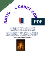 Cadets Handbook