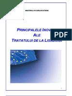 Principalele Inovatii Ale Tratatului de La Lisabona