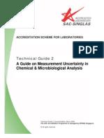 Technical Guide 2, Mar 08-Estimare Incertitudine Micro