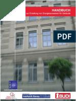 Handbuch Zur Erstellung Des Energieausweises