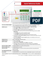 DMP Keypad Quick Reference Guide