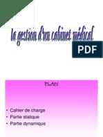 Gestion d Un Cabinet Medical Final 2