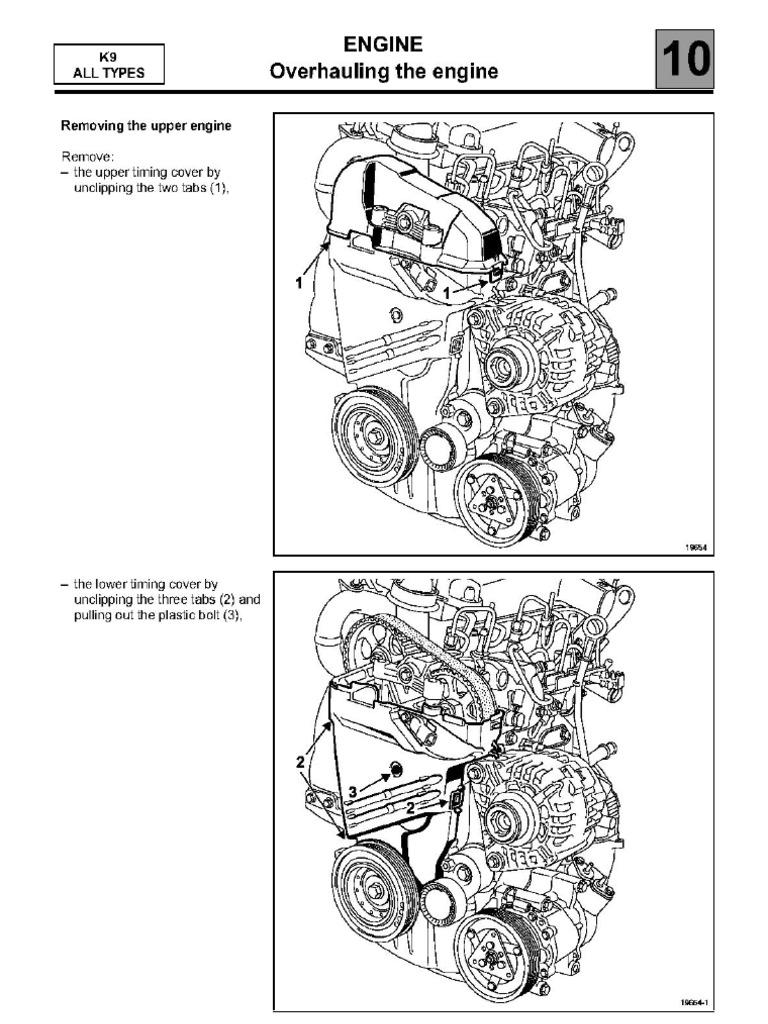 reglare distributie motor diesel Megane Dacia 1,5 dci