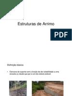 Estruturas de Arrimo