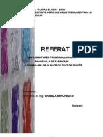 52874567 Implementarea Programului HACCP Procesului de Fabricare a Bomboanelor Gumate Cu Gust de Fructe