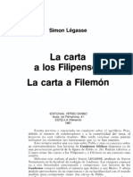La Carta a Los Filipenses, Simon Legasse